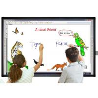 Quality 6 Point Touch Smart LCD Streaming Media Player / 70 Inch Whiteboard Smart Board wholesale