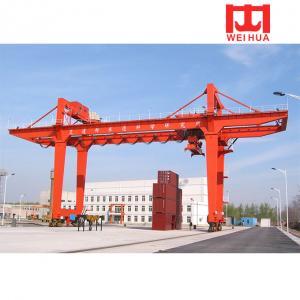 Buy cheap 10t 50t double beam rmg model gantry crane from wholesalers