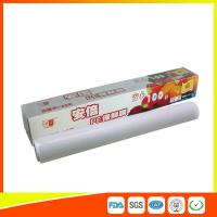 Best Clear Food Packaging Plastic Cling Film Roll Microwave Safe Eco Friendly wholesale