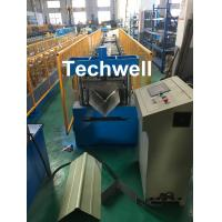 Best Panasonic Control Ridge Cap Roll Forming Machine For Making 0.3-0.8mm Coil Sheet wholesale