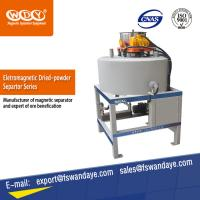 Best ISO Approved Waste Tire Recycling Dry Powder Magnetic Iron Separator Energy Saving. wholesale