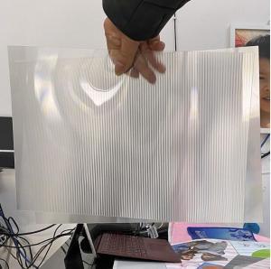Best OK3D factory manufacture 0.9mm 70LPI PET Lenticular Sheet for 3d lenticular printing by injekt print and UV offset print wholesale
