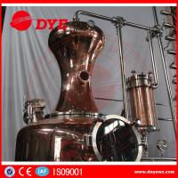 Cheap 130gal Wine Copper Distilling EquipmentAlcohol Distiller Semi - Automatic for sale