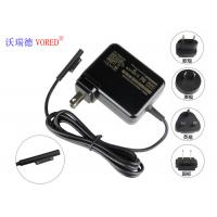 Best US Plug Universal Laptop Chargers , Black 15v 1.6a Surface Tablet Charger wholesale
