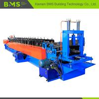 China Quick Change Stud And Track Roll Forming Machine , CU Purlin Roll Forming Machine on sale
