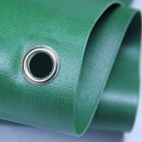 Best Green 100 Woven Polypropylene Textiles With Holes For Solvent Printing wholesale