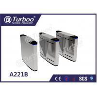 Best LED Lamp Indication Flap Barrier Turnstile Access Control Security Systems wholesale