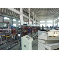 China PU sandwich panel production line sheet metal roofing polyurethane foam wall panel on sale