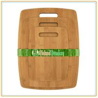 Best Carbonized Bamboo Cutting Board Set with 3 Pieces, can be customize wholesale