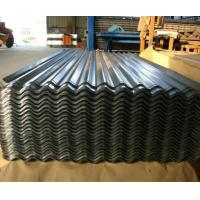 China JIS G3302 Corrugated Steel Roofing Sheets High Tensile For Roofing / Wall  80mm on sale