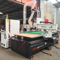 China High Precision Programmable Wood Router , 3d Wood Router Machines With Emergency Stop on sale
