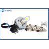 Buy cheap 2000LM LED Car Headlight Bulbs , COB LED Motorcycle Headlights from wholesalers