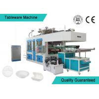 Quality Eco friendly Bamboo Fiber Paper Plate Tableware Making Machine / Pulp Moulding Equipment wholesale