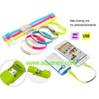 Best New design Date charging line wristband for android mobile phone wholesale