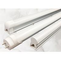 China 18W T8 LED Tube Light Fixtures 4ft 5ft 2700K - 6500K Color Temperature on sale