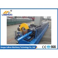 Best Hydraulic Cut Downspout Roll Forming Machine CNC Control Energy Saving And Security wholesale
