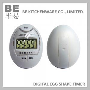 Best Egg Shape Alarm Countdown Digital LCD Display Timer wholesale