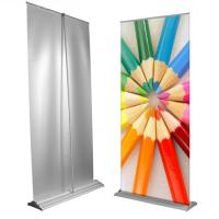 Cheap Custom Large Retractable Display Banners , Advertising Trade Show Roll Up for sale