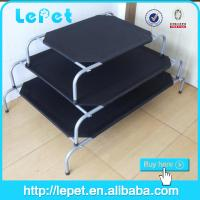 China Hot sale outdoor durable metal frame elevated dog bed on sale