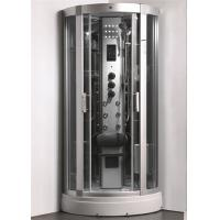 Cheap Enclosed Steam Shower Bath Cabin Spa Shower Enclosures With Aluminum Alloy Column for sale