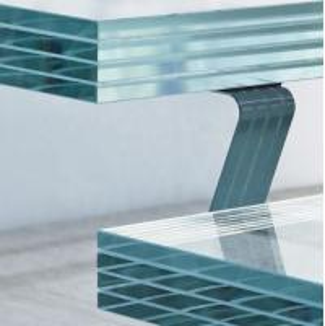 China 4mm 8.8 Mm Laminated Glass / Ul 972 Toughened Laminated Glass Balustrade on sale