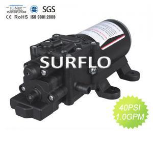 China Pressure Hot Water Pump SURFLO 12V 1.3GPM 100PSI DC Mini Electric diaphragm Pump on sale