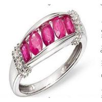 Best Diamond & ruby ring wholesale