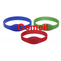 Best Entry Rfid Wristband Access Control For Events , Entrance Rfid Chip Bracelet Long Service Life wholesale