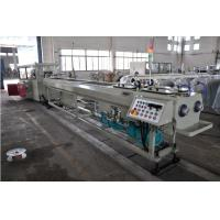 Best High Output PVC Double Pipe Plastic Extrusion Equipment / Pipe Extruder Machine wholesale