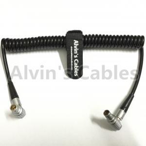 2 pin Right Angle Coiled Twist Cable Power Teradek Bond ARRI Alexa Camera