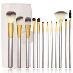 Best Eco Friendly 12 Pieces Synthetic Makeup Brushes Set wholesale
