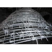 Best Hot - Dipped Galvanized High Tensile Barbed Wire 10BWG x 12BWG Per Roll wholesale