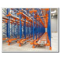 Best Electric Movable Pallet Rack Storage Systems With Color Powder Coated Finish wholesale