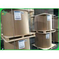 China 80 100 120gsm Unbleached 100% Virgin Uncoated White Sack Kraft Paper For Making Paper Bag on sale