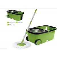 Best Plastic Powerful Cleaning 360 Rotating Mop , Clean Spin 360 Microfiber Mop wholesale