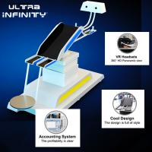Best Thrilling 9D VR Flight Simulator Electric Platform / Virtual Reality Game Machine wholesale