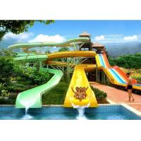 Best Outdoor Spiral Tube Cool Water Slides Holiday Resort Water Park Equipment wholesale