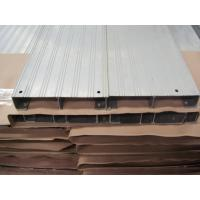 Quality Portable Durable High Ribbed Aluminum Walk Boards / Scaffold Plank For Engineering Construction wholesale