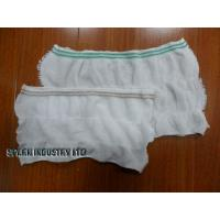 Cheap Warp Knitting S, M, L Disposable Incontinence Pants Maternity Mesh Pants For for sale
