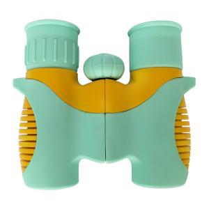 Best Light cyan Toy Telescope Set for Children 6x21 Optics Kids Binoculars wholesale