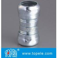 Quality Zinc Plated Steel EMT Compression Coupling , EMT Coupling 1/2 Inch To 4 Inch wholesale