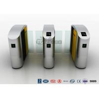 Buy cheap Waist Height RFID Turnstile Security Systems Automatic Flap Barrier Turn Style Door from wholesalers