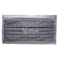 Best Single-Piece Package Black and White Small Checked Pattern Face Mask wholesale