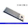 Cheap IP65 Cherry Keyswitch Panel Mount Kiosk Mechanical Keyboard With Trackball wholesale
