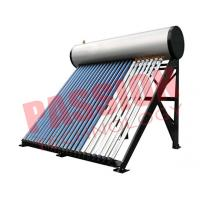 Best Commercial Solar Water Heater Heat Pipe For Swimming Pool 300L Capacity wholesale