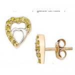 Best Yellow diamond earrings wholesale