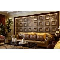 Cheap Customized Auditorium Deco Material 3D Wall Board / Leather 3D Wall Paper Light weight wholesale