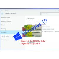 Buy cheap Internet Activation Windows Genuine Sticker Operating System X20-19608 from wholesalers