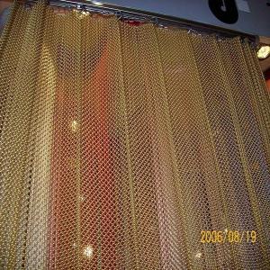 Best Decorative Mini Chain Link Mesh Curtain / Window Curtain wholesale