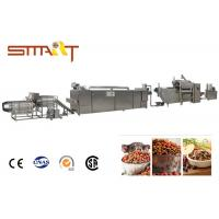 China SS Material Pet Food Extruder Machine Smart Fish Feed Extruder Machine on sale